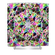Jyoti Ahau 219 Shower Curtain