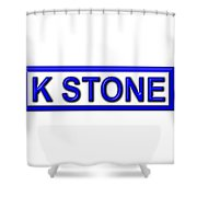 K Stone Shower Curtain
