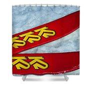 K2 Skis Shower Curtain