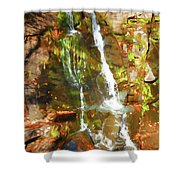 Gentle Drops Of Love Shower Curtain