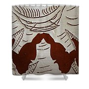 Kabaka Atuuse- The King Has Arrived - Tile Shower Curtain