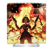 Kabaneri Of The Iron Fortress Shower Curtain