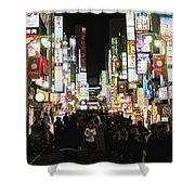 Kabukicho Shower Curtain