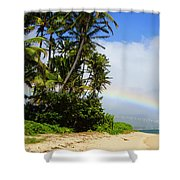 Blessed Land Shower Curtain