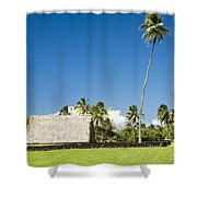 Kahanu Garden Hana Maui Hawaii Shower Curtain