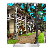 Kailua Village - Kona Hawaii Shower Curtain