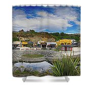 Kaitoura Nz Panorama Shower Curtain