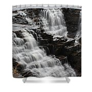 Kakabeka Falls Three Shower Curtain