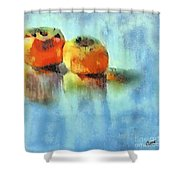 Kaki Couple Shower Curtain