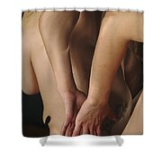 Kaki1121 Shower Curtain