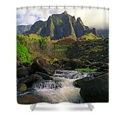 Kalalau Cathedral Shower Curtain