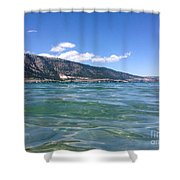 Lake Of Many Colours Shower Curtain