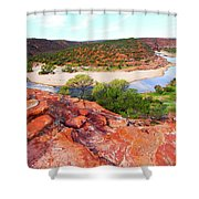 Kalbarri National Park 2am-29388 Shower Curtain
