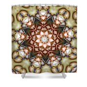 Kaleidoscope 108 Shower Curtain