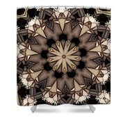 Kaleidoscope 114 Shower Curtain
