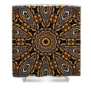 Kaleidoscope 25 Shower Curtain