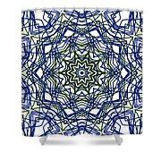 Kaleidoscope 706 Shower Curtain