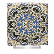 Kaleidoscope 77 Shower Curtain