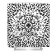 Kaleidoscope 790 Shower Curtain