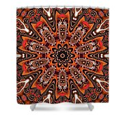 Kaleidoscope 85 Shower Curtain