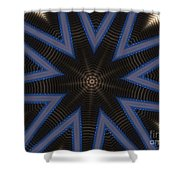 Kaleidoscope 90 Shower Curtain
