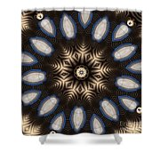 Kaleidoscope 91 Shower Curtain