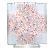 Kaleidoscope Abstract Shower Curtain