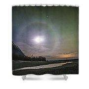 Kaleidoscope Night Shower Curtain