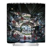 Kaleidoscopic Tokyo Shower Curtain