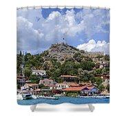 Kalekoey - Turkey Shower Curtain
