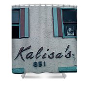 Kalisa's 851 Cannery Row Monterey Shower Curtain