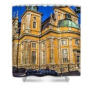 Kalmar Cathedral Exterior Shower Curtain
