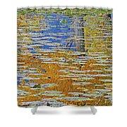 Kaloya Pond Autumn Shower Curtain