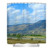Kamloops  Shower Curtain