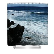 Kanaio Ahihi Kinau Maui Hawaii Shower Curtain