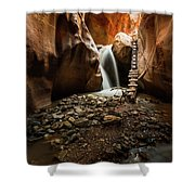 Kanarra Creek Falls  Shower Curtain