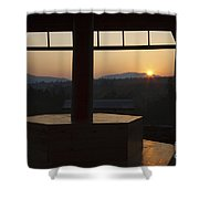 Kancamagus Highway - New Hampshire Shower Curtain