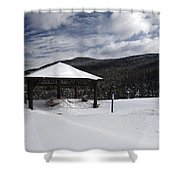 Kancamagus Highway - White Mountains New Hampshire Shower Curtain by Erin Paul Donovan