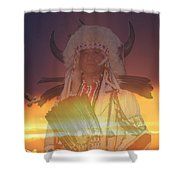 Kaneetawate Shower Curtain