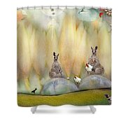 Kanga Shower Curtain