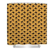 Kangaroo Pattern Shower Curtain