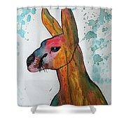 Kangaroo Water Shower Curtain