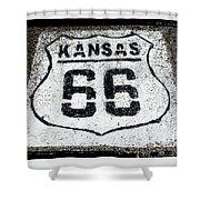 Kansas 66 Shower Curtain