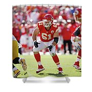 Kansas City Chiefs Shower Curtain