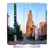 Kansas City Power And Light District Shower Curtain