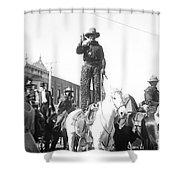 Kansas: Cowboy, C1908 Shower Curtain