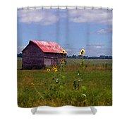 Kansas Landscape Shower Curtain