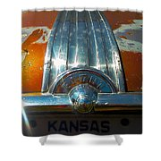 Kansas Plates Shower Curtain