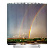 Kansas Storm Chase Bust Day 007 Shower Curtain