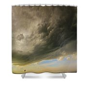 Kansas Storm Chasing 010 Shower Curtain